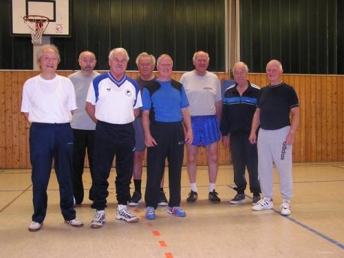 Alte Herren Turnen beim VfL Engelskirchen